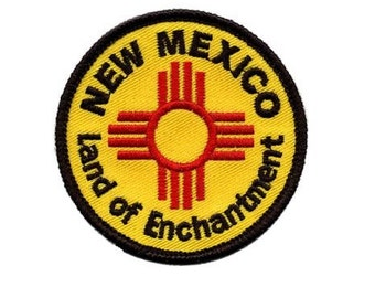New Mexico Patch - Land of Enchantment (Iron on)