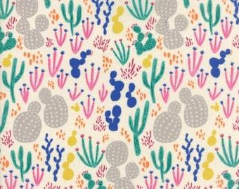 Fabric by the Yard- Yucatan  Sandbar Cactus