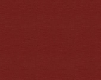 Solid Marsala Red Fabric - By The Yard - Gender Neutral / Solid / Fabric