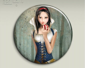 Pocket mirror - BIANCANEVE (Snow White) - 58mm