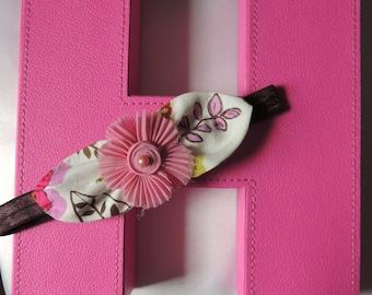 Pink Petals Girls Headband