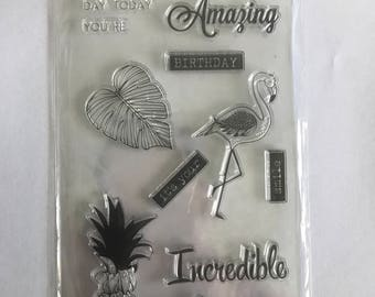 Clear Stamp Set 'Tropical'