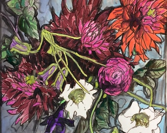 Original watercolor painting 35/100