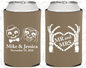 Mr and Mrs, Sugar Skull Wedding Favors, Day of the Dead Wedding Favors, Candy Skull Wedding, Dia De Los Muertos Wedding (206)