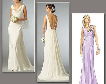 Vogue Pattern V2965 Misses' Dress