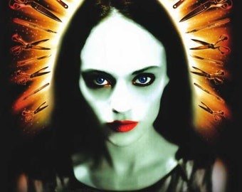 May (2002) movie poster 11 x 17 Angela Bettis Lucky McKee slasher horror film Jeremy Sisto Anna Faris James Duval punk glass encased doll