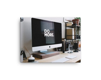 Do More - Printed Canvas