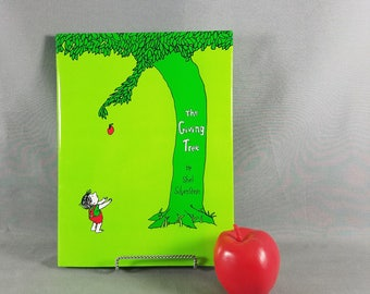 Book ~ Shel Silverstein ~ The Giving Tree ~ Hardback Book ~ Once there was a tree ~ For Children ~ Moving Parable ~ My Nostalgic Life