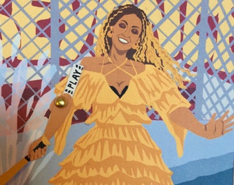 Beyoncé Hold Up - Movers & Shakers card