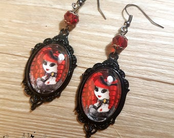 Ventruesa earrings // Victorian vampire