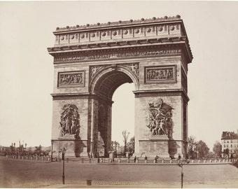 Paris Decor, Arc de Triomphe, Art Print, French Decor, Paris Prints, Paris Art, Paris France, French Art, French Prints, Paris Poster, Paris