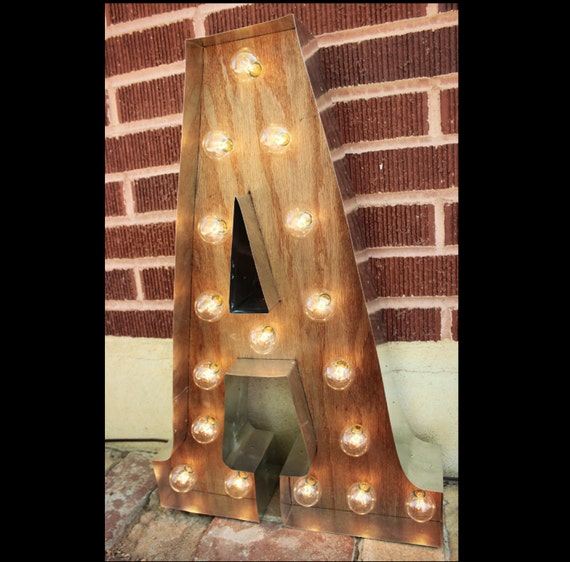 G Marquee Light Up Letters Sign Led Battery Operated Plug In