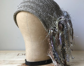 Puddy/Natural Tweed *Funky Chic Hat™*