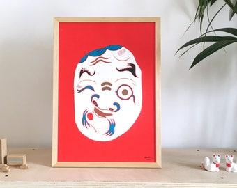 Hyottoko Mask 火男