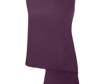 Plum Purple Handmade 100% Pure Cashmere Shawl Wrap Scarf - Pashminas and Wraps - Also available In 36 Other Colours