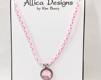 Pink Pendant Necklace - Free Shipping in the US