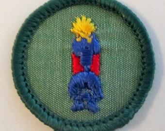 "Vintage Junior Girl Scout Badge ""Indian Lore"" circa 1960's"