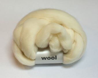 Bluefaced Leicester BFL Wool - 4 oz