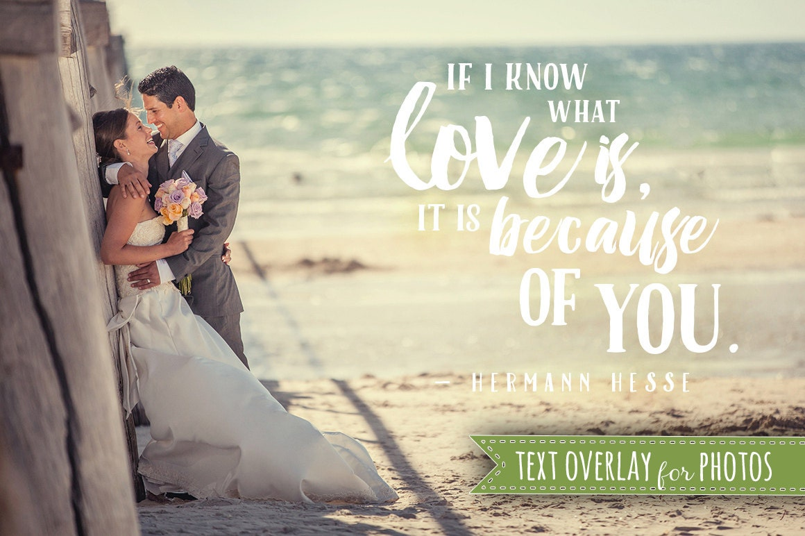 Wedding Photography Quotes And Sayings: Love Soul Quote Word Overlay Love Wedding Phrase Photo