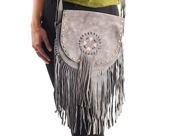 Hipster Cross Body Bag,Burning Man,Bohemian,Cross Body Bag,Boho Chic Messenger,Sand Crossbody Purse,Small Messenger Bag,Leather Handbag