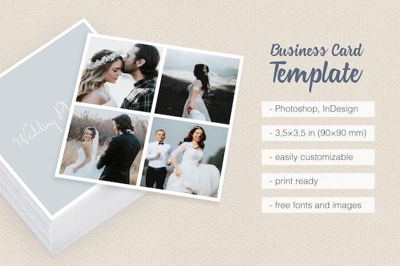 Wedding photographer square camera collage business card wedding photographer square camera collage business card template multiple photos with borders frames colourmoves