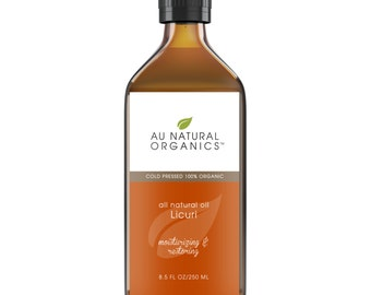 Licuri Oil,  8.5oz (250ml), Natural Moisturizer, Natural Skincare, Natural Haircare, Anti-Aging Skincare