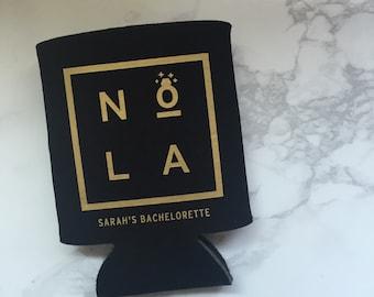 NOLA Bachelorette, Team Bride, Bride Tribe, Bachelorette, Wedding Can Cooler