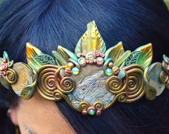 FOREST MAGIC Fairy Elven Crown