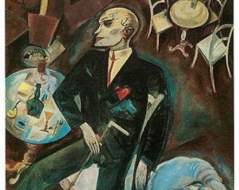Grosz - Lovesick (1918) Art Canvas/Poster Print A3/A2/A1
