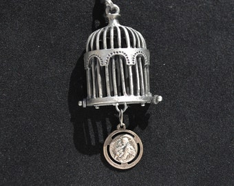 Bird Cage Necklace