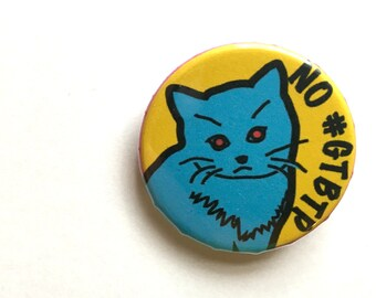 No #GTBTP button, 1 1/4""