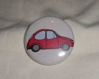 Red bug car
