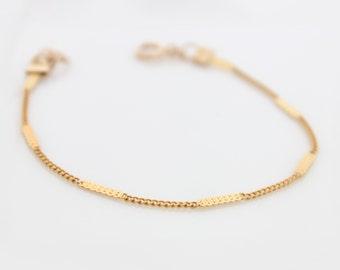 Gold Bracelet • Delicate gold bracelet • Gifts for her