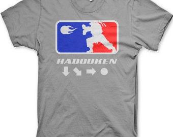Kid's Hadouken street fighter t-shirt youth gamer shirt