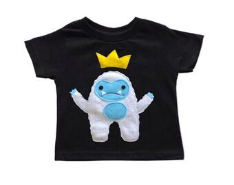 Yeti King Kids T-Shirt