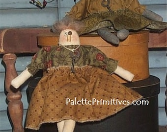 Mini Prim Dolls E-Pattern
