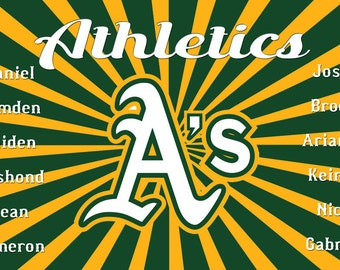 BASEBALL Team BANNERS Full Color including Graphic Design to display your banner - Custom Made - FAST Delivery