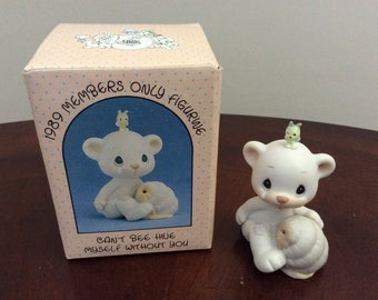 """Precious Moments """"Can't Bee Hive Myself Without You"""" figurine #BC-891 Enesco."""