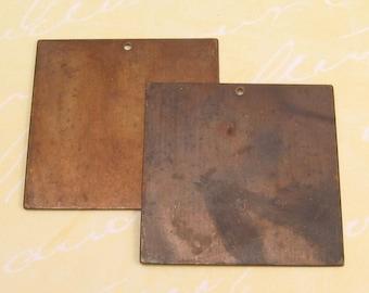 Vintaj Altered Blank Large Square 2 pc. V33