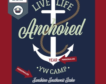 Young Women Camp, Nautical Theme