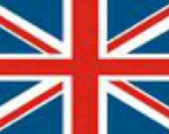 Enamel 'British Union Jack Flag' Magnetic Sign