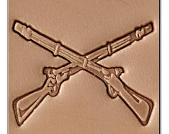 Rifle Leather Stamp Tool