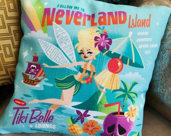 Tiki Belle Pillowcase