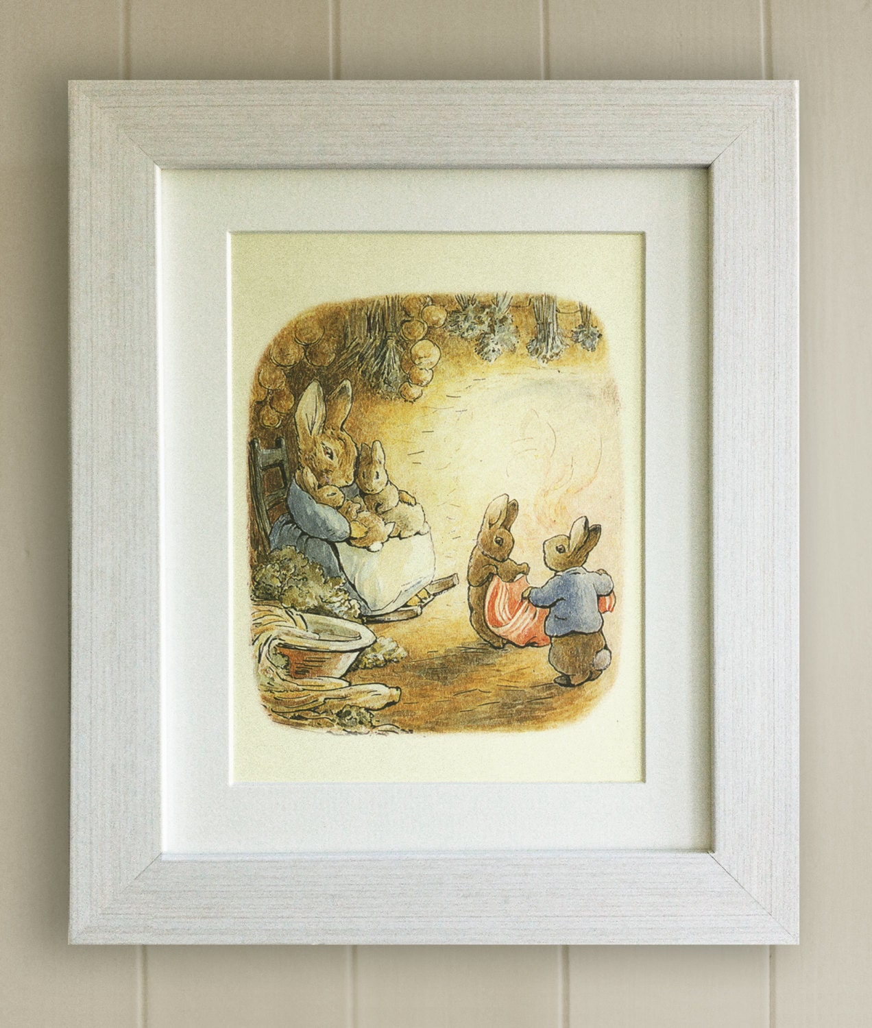 BEATRIX POTTER Print New Baby/Birth Nursery Picture Gift
