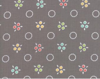 Flower Mill Pompom Stone by Corey Yoder of Moda Fabrics Fabric Yardage