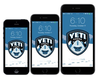 Yeti Squad Wallpaper/Background/Lock Screen for iPhone 5/5c/5s/6/6 Plus & Android