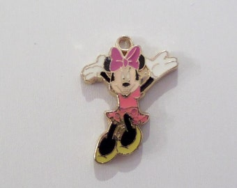 2CT. Minnie Mouse Inspired Charms,  Y6