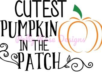 Cutest Pumpkin! SVG