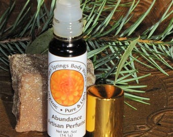 Abundance Botanical Perfume with Pink Grapefruit and Ylang Ylang