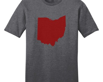 Custom State Silhouette - Personalized Sports T-Shirt